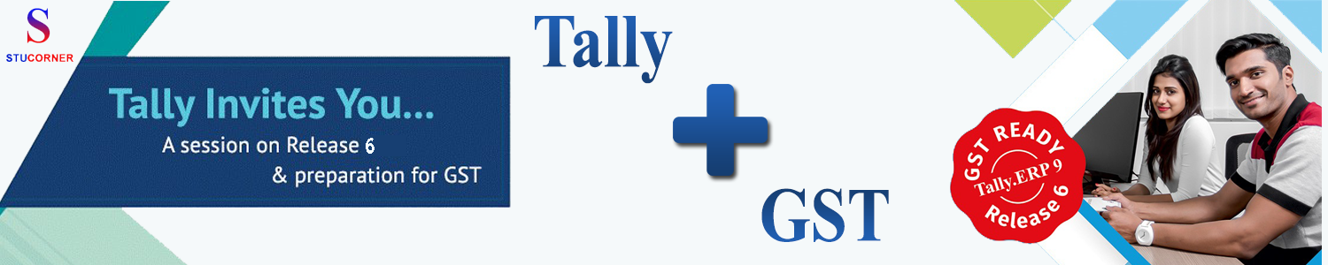Stucorner-Tally ERP 9 0 with GST Training & certification Program